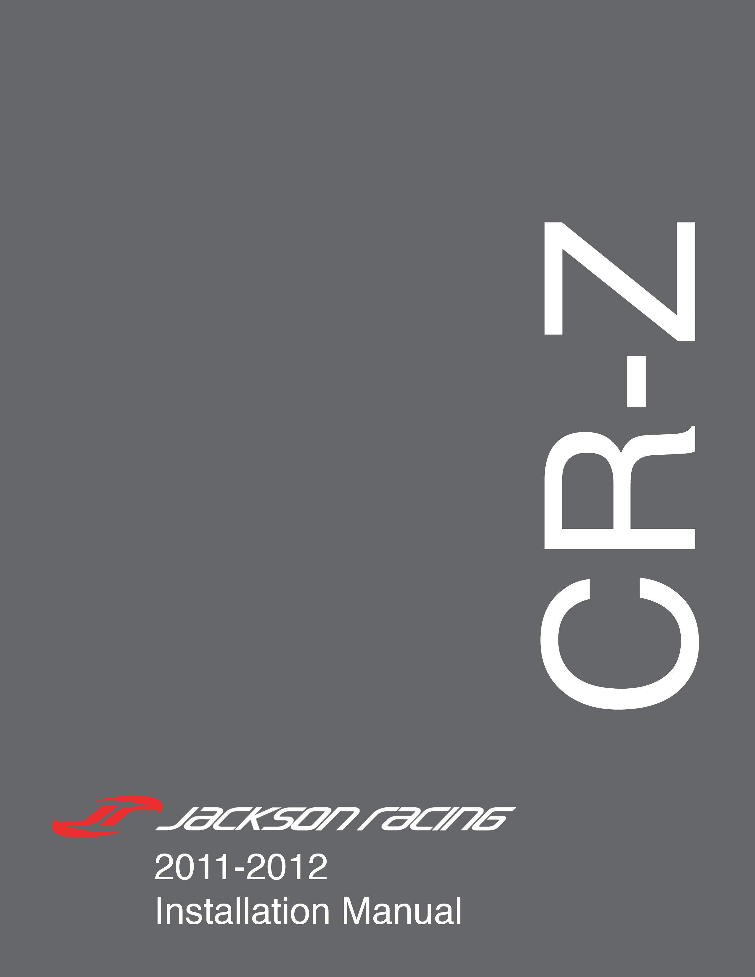 Installation Manuals – Jackson Racing