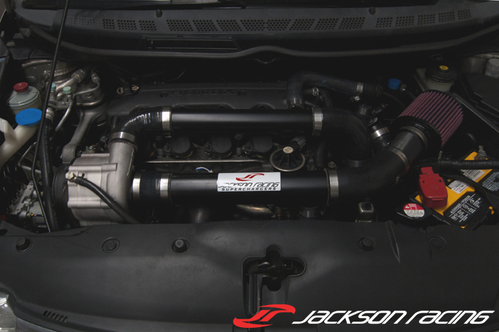 Jackson Racing Civic R18 Supercharger System Released Jackson Racing